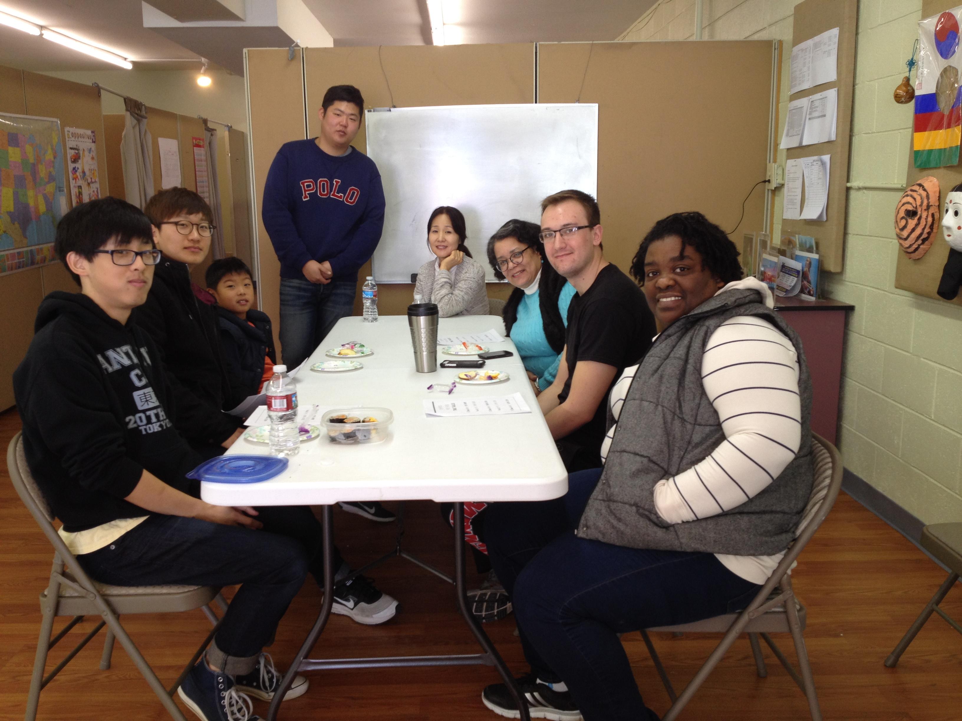 간식시간에 학생과 선생님과의 대화 시간.JPG